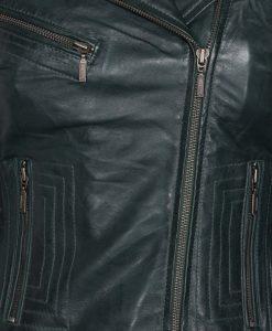 dames motor jasje rbm -497 donkergroen