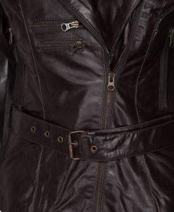 Dames jasje - rbm-4457 crunch bruin