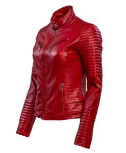 dames jas -rbm 348 rood