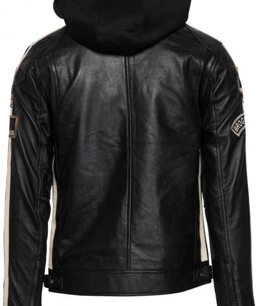 RBM-heren motor jas zwart 602