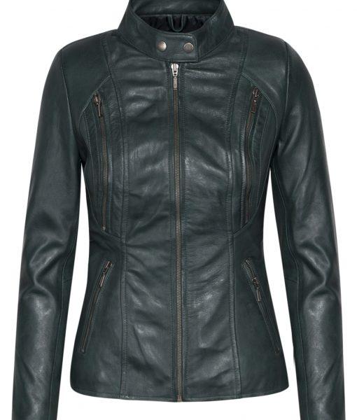 dames biker - rbm 490 groen