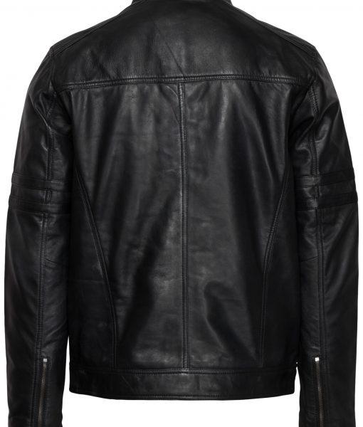 RBM-heren leren jas zwart 559