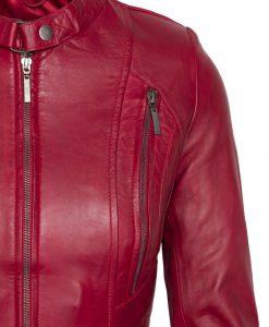dames biker - rbm 490 rood