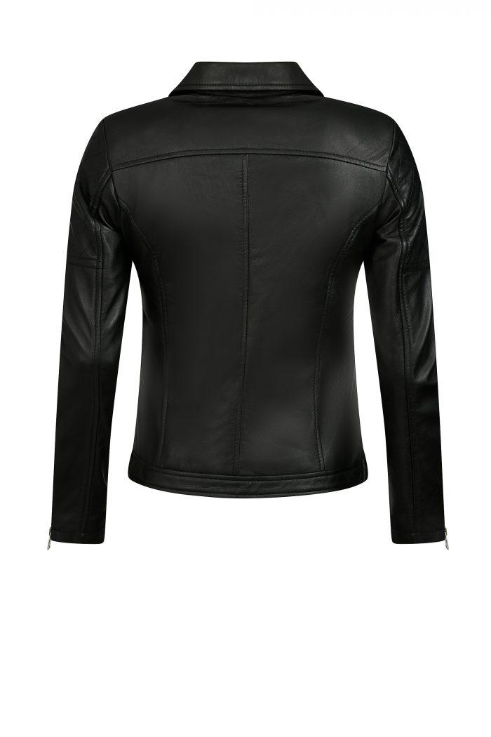 HERA biker jack dames zwart
