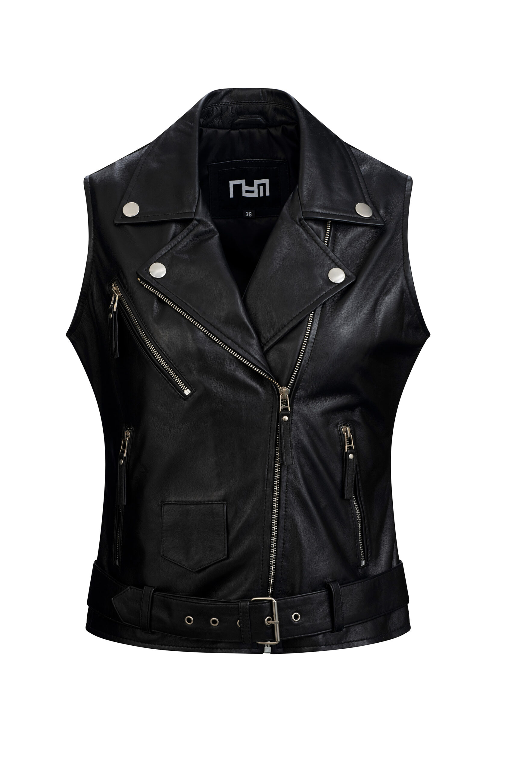 L165 bodywarmer dames zwart