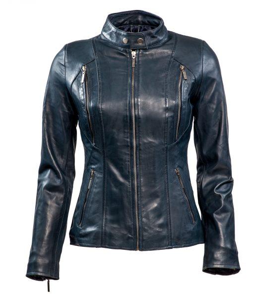 dames biker - rbm 490 blauwdames biker - rbm 490 blauw