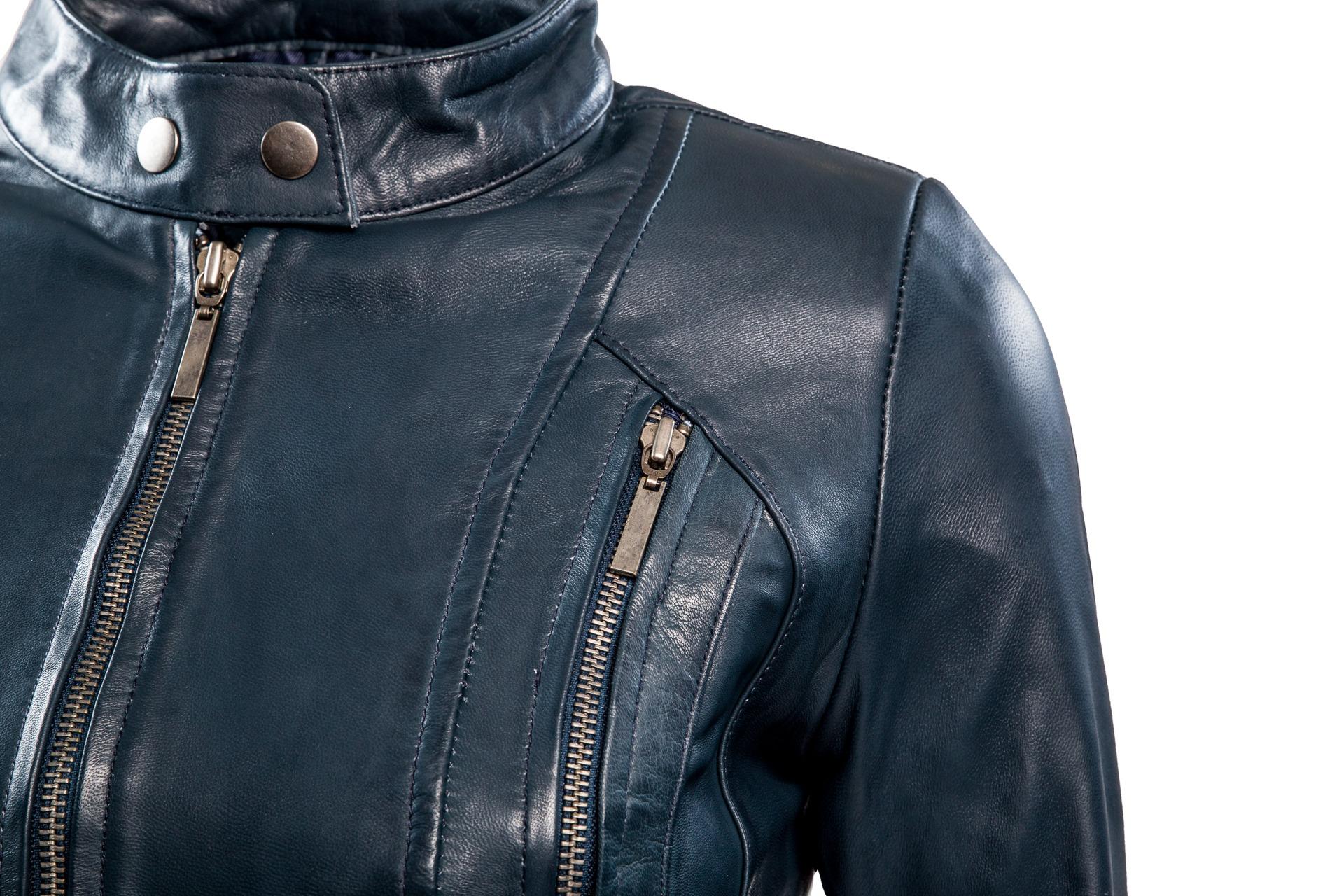 dames biker - rbm 490 blauw