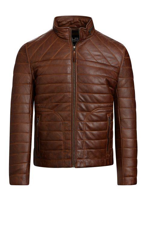 G121 biker jacket cognac