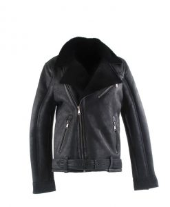 Chinco- shearling heren lammy zwart