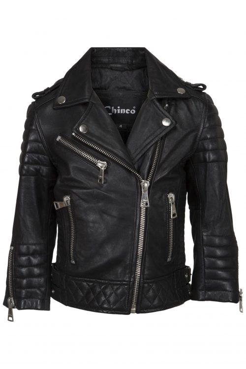 Chinco-Jaedson kids motor jasje zwart