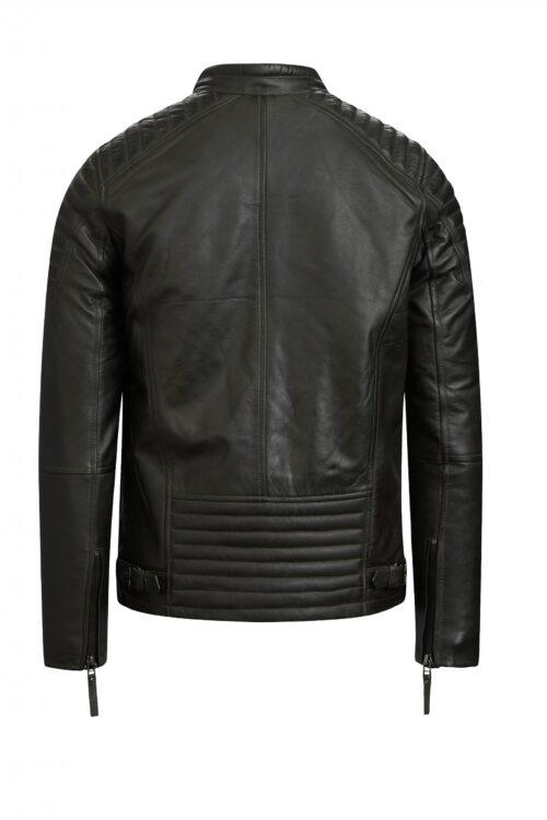 513 biker jack armygreen heren