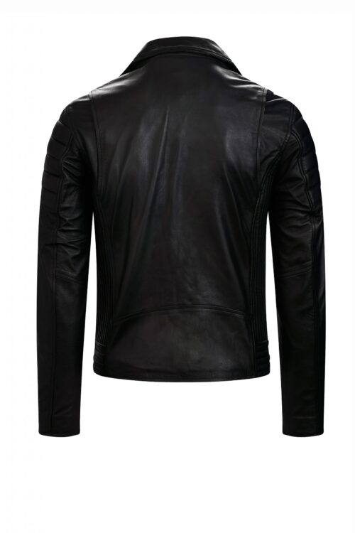 G127 biker jack zwart