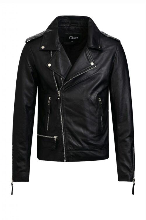 G52 biker jack zwart heren