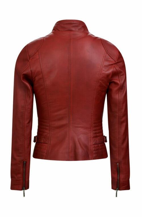 446 biker jack rood dames
